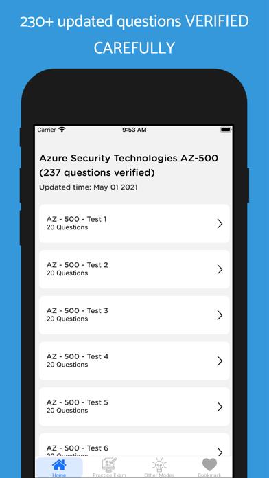 Azure AZ-500. UPDATED 2021 Screenshot