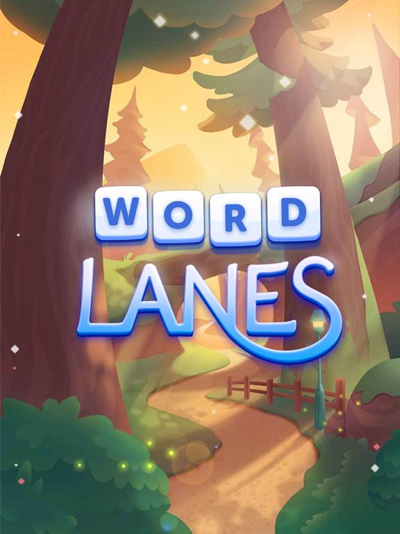 Word Lanes : Des grilles zen