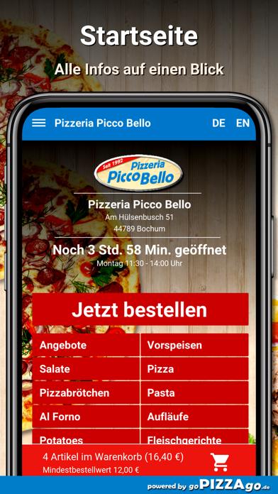 Pizzeria Picco Bello Bochum screenshot 2