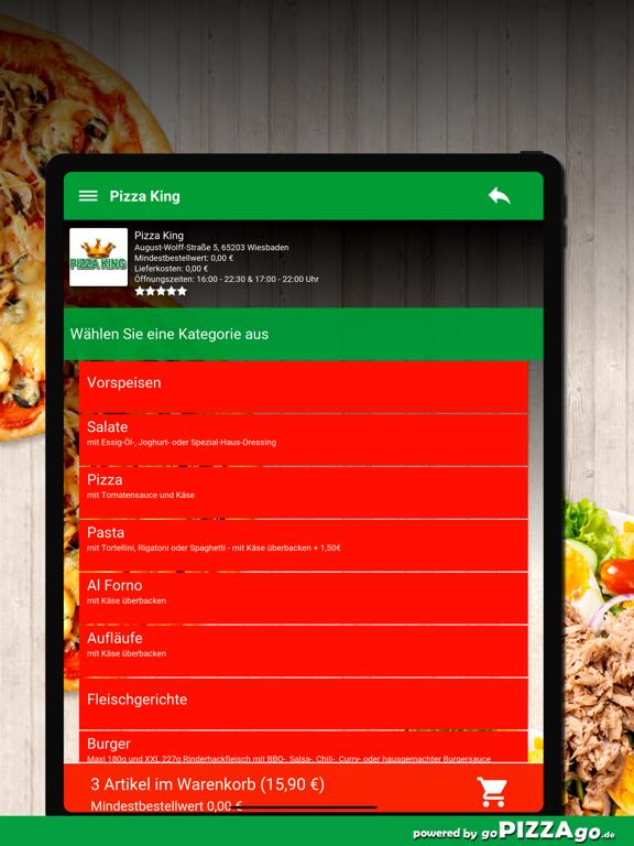Pizza King Wiesbaden screenshot 8