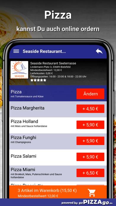 Seaside Restaurant Bielefeld screenshot 5