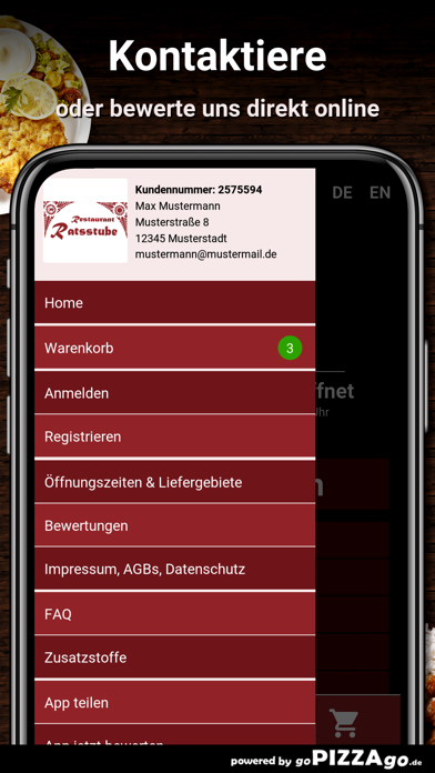 Ratsstube Steinbach (Taunus) screenshot 3