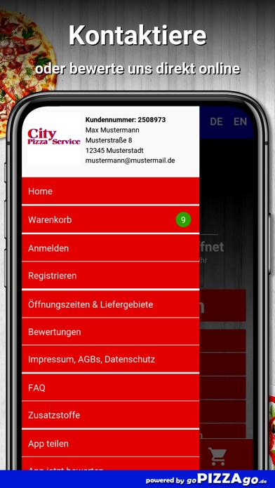 City Pizza Service Aalen screenshot 3