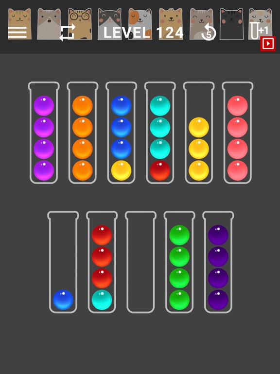 Ball Sort Color Water Puzzleのおすすめ画像4