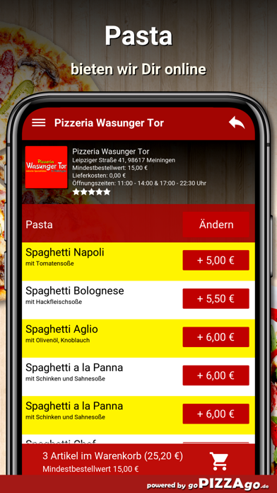 Wasunger Tor Meiningen screenshot 2