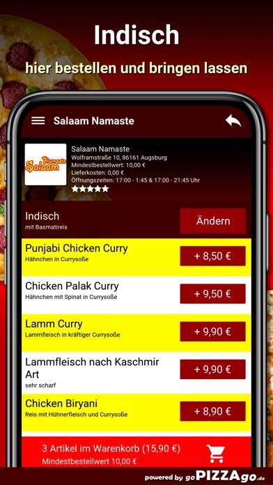 Salaam Namaste Augsburg screenshot 6