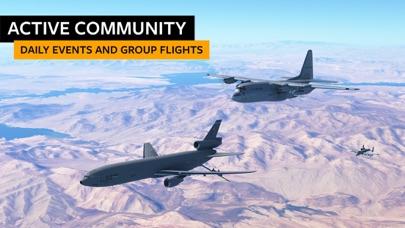 Screenshot from Infinite Flight Simulator