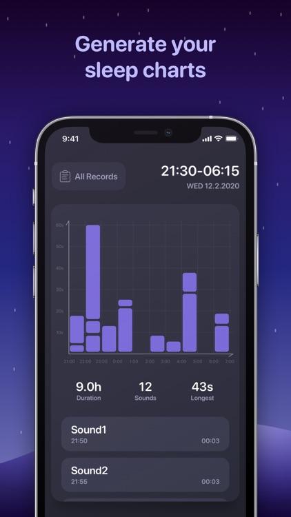 Snoring Analyzer: Snore record screenshot-3