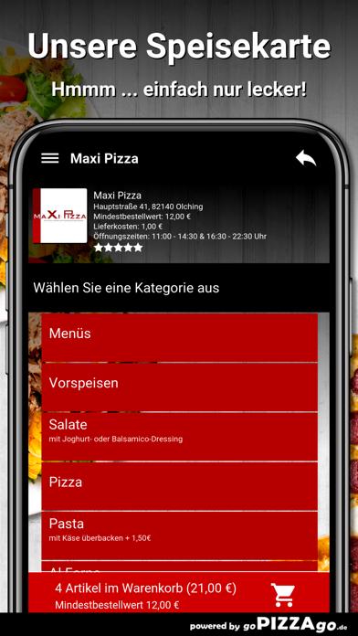 Maxi Pizza Olching screenshot 4
