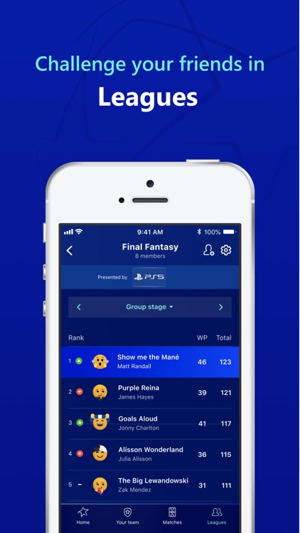 UEFA Gaming: Fantasy Football screenshot-5