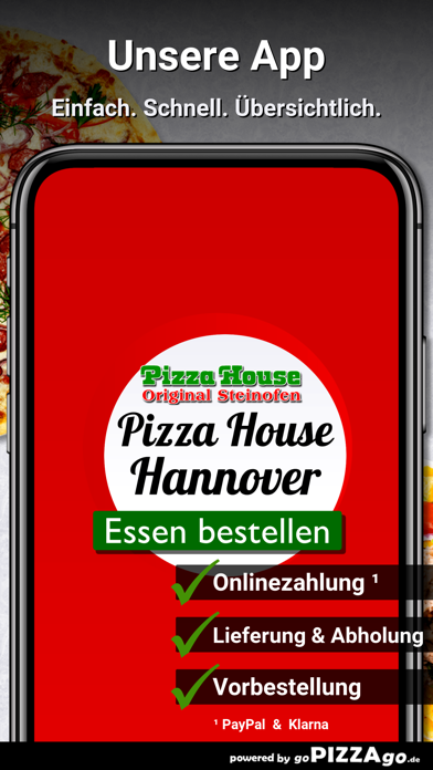 Pizza House Hannover screenshot 1