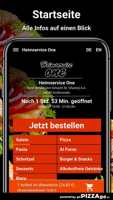 Heimservice One Großrosseln screenshot 2