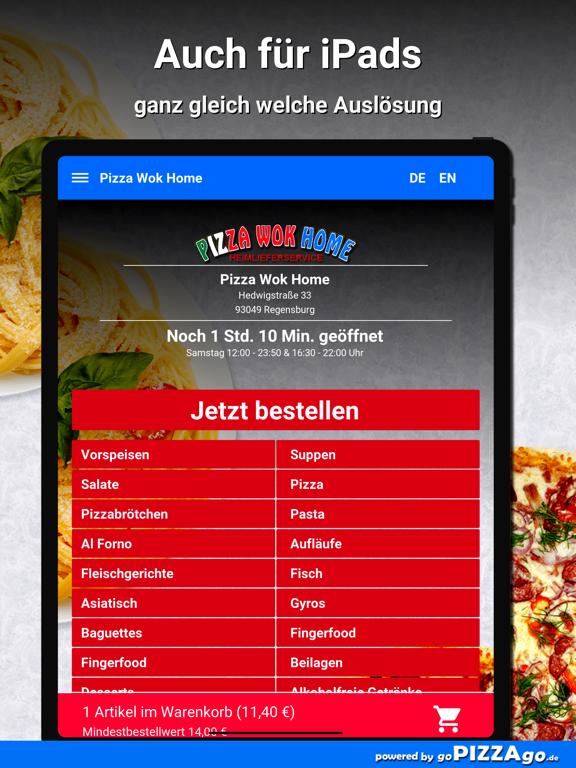 Pizza Wok Home Regensburg screenshot 7