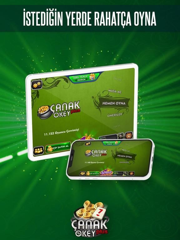 Çanak Okey Plus ipad ekran görüntüleri