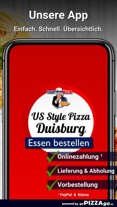 US Style Pizza Duisburg screenshot 1