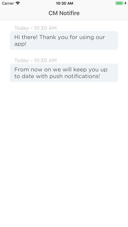 Notifire Push Notifications screenshot-3