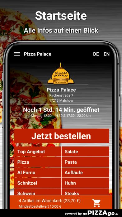 Pizza Palace Malchow screenshot 2