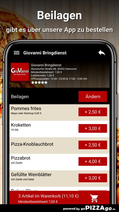 Giovanni Bringdienst Hannover screenshot 6
