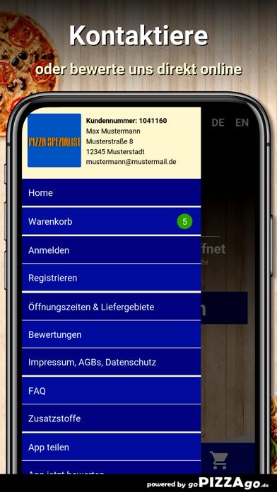 Pizza Spezialist Bonn screenshot 3
