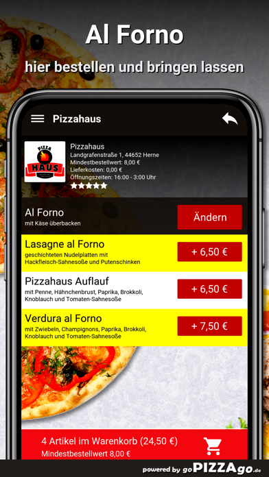Pizzahaus Herne screenshot 6