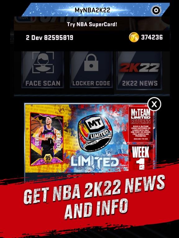 iPad Image of MyNBA2K22