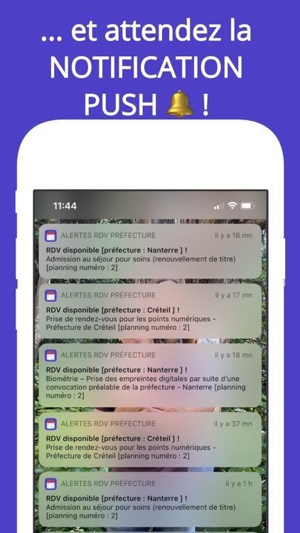 Alertes RDV préfecture (notif) screenshot-4