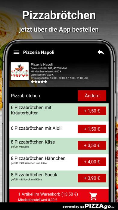 Pizzeria Napoli Marl screenshot 5