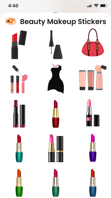Download Beauty Makeup Stickers for Android