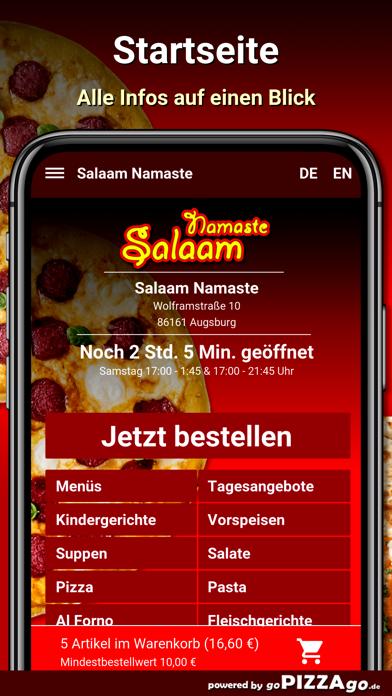 Salaam Namaste Augsburg screenshot 2