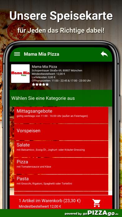 Mama Mia Pizza München screenshot 4
