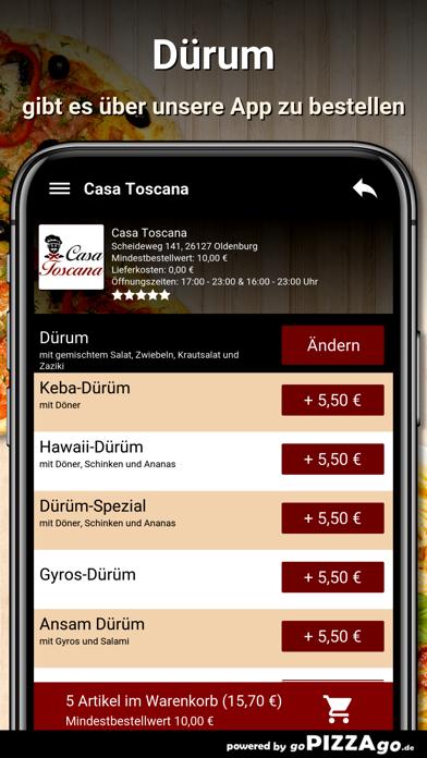 Casa Toscana Oldenburg screenshot 6