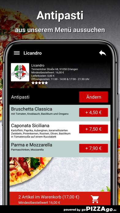 Licandro Erlangen screenshot 5