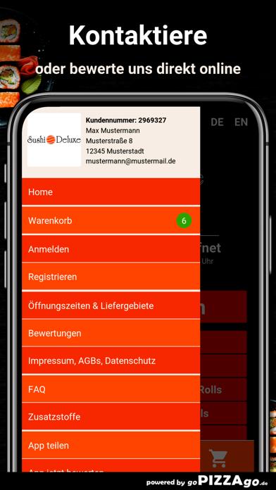 Sushi Deluxe Nürnberg screenshot 3