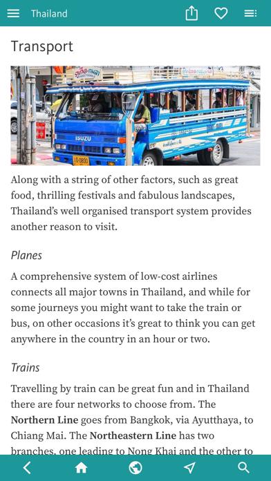 Thailand's Best: Travel Guide screenshot 10