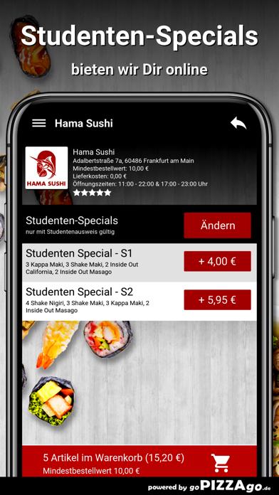 Hama Sushi Frankfurt am Main screenshot 5
