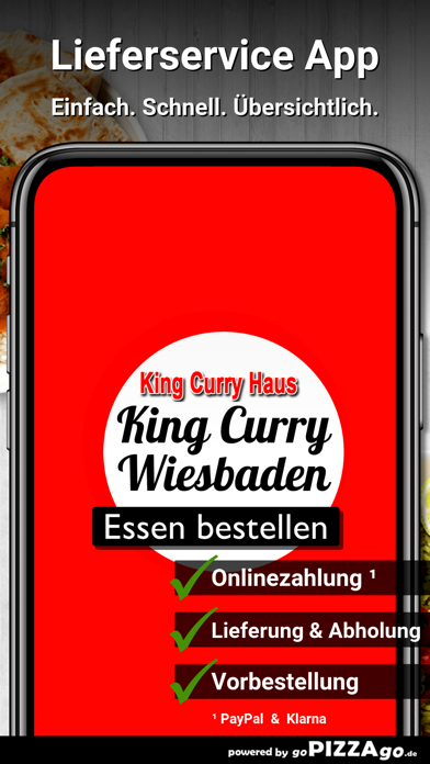 King Curry Haus Wiesbaden screenshot 1
