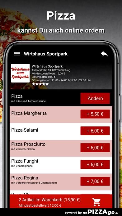 Wirtshaus Sportpark Gilching screenshot 5
