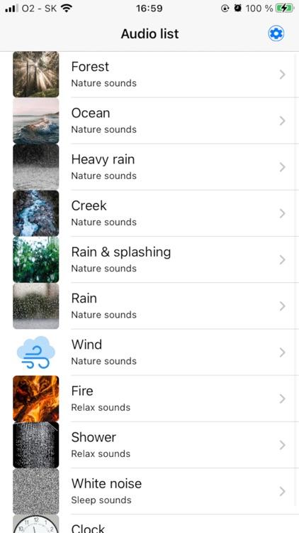 Relax white noise sleep sounds screenshot-6