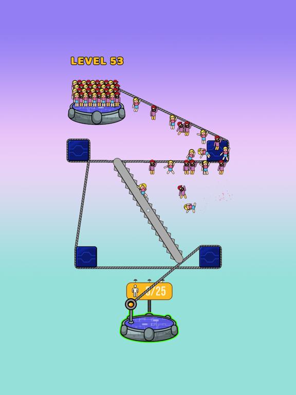 Rope Rescue! - Unique Puzzleのおすすめ画像2