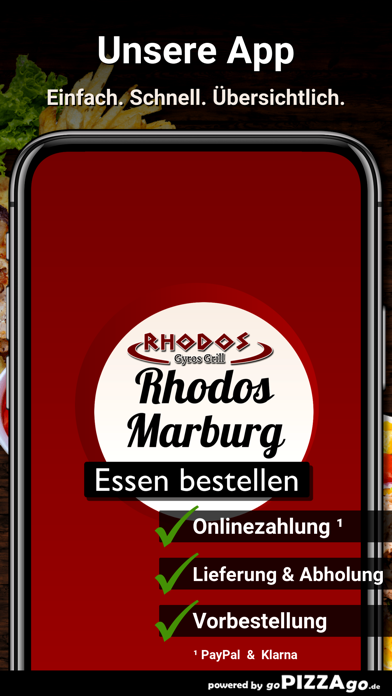 Rhodos-Grill Marburg screenshot 1