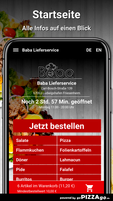 Baba Ludwigshafen Friesenheim screenshot 2