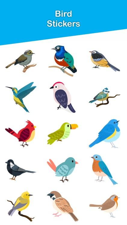 Bird Stickers!