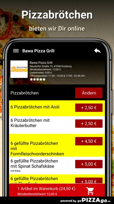 Bawa Pizza Grill Duisburg screenshot 5