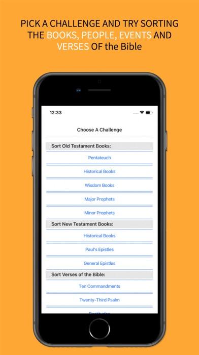 the BibleOrder App screenshot 3