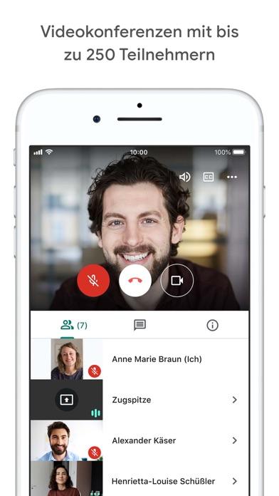 Google MeetScreenshot von 3