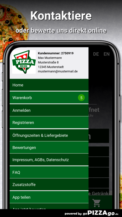 Pizza Heim Frankfurt am Main screenshot 3