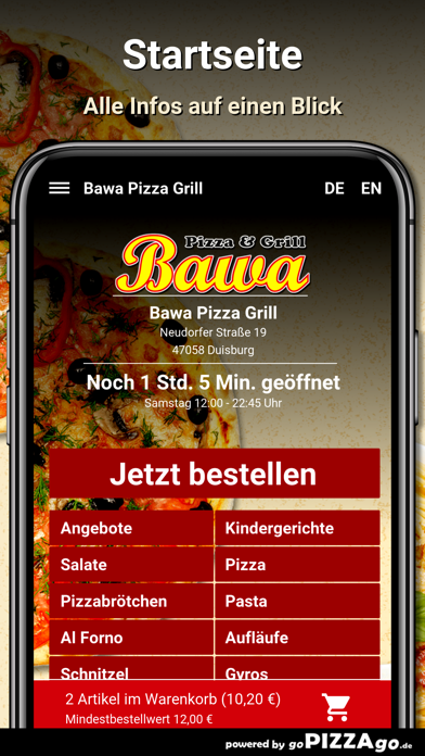 Bawa Pizza Grill Duisburg screenshot 2