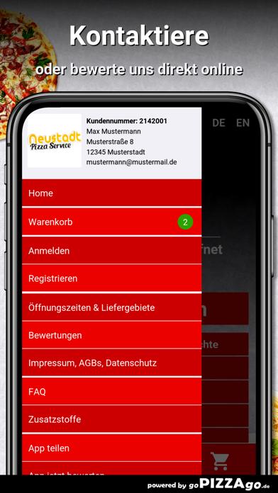 Neustadt Pizza Service Bremen screenshot 3