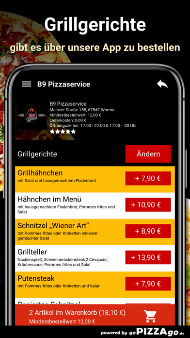 B9 Pizzaservice Worms screenshot 6