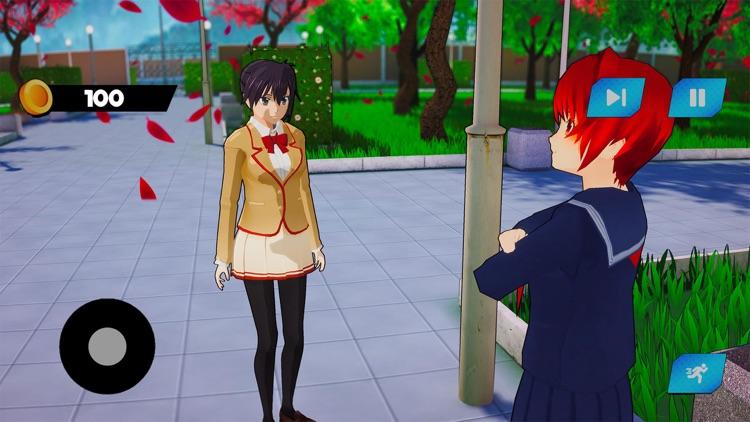 Sakura School Girl Life 3D screenshot-4